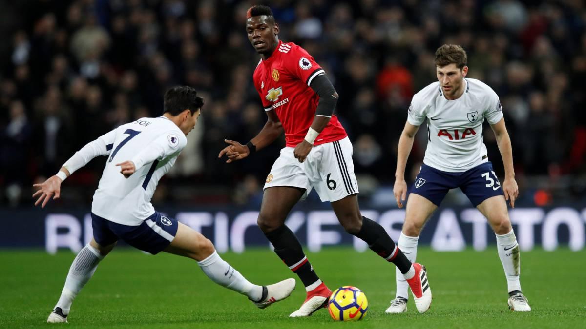 Dávinson Sánchez es titular en el partido entre Tottenham y Manchester  United 21c23978ea361