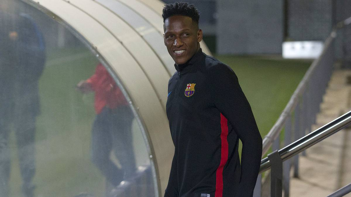 ¡Confirmado! Yerry Mina será titular con el Barcelona este fin de semana