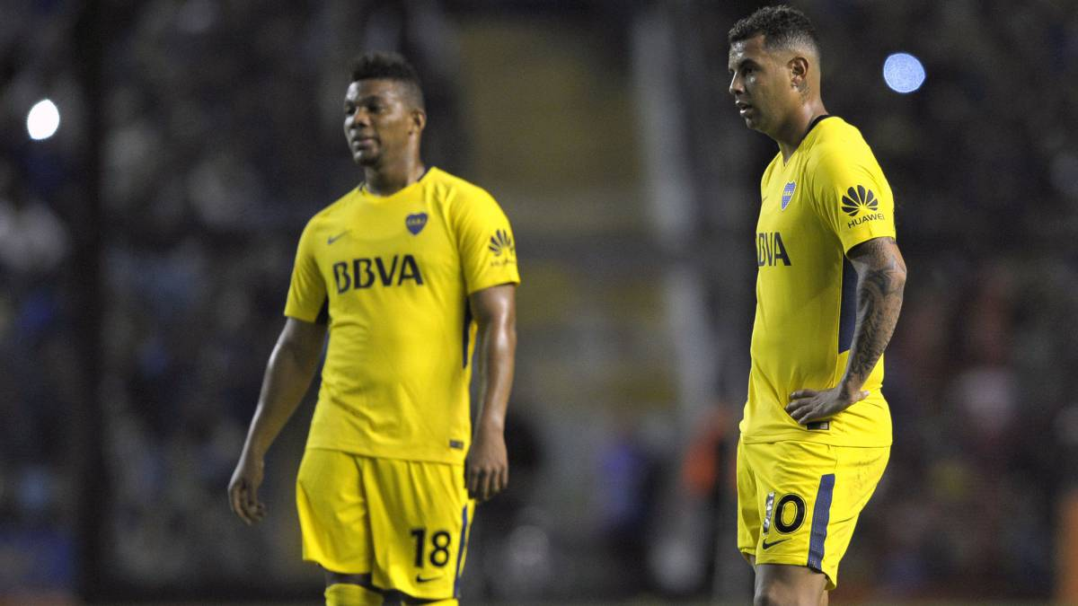 Edwin Cardona Frank Fabra Wilmar Barrios y Sebastián Pérez presentes en récord de Boca Juniors