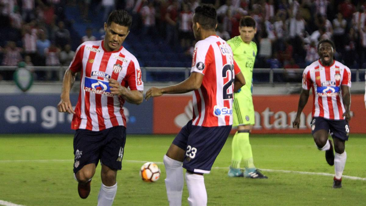 Atlético Junior vs Club Guaraní, Copa Libertadores 2018 — En vivo