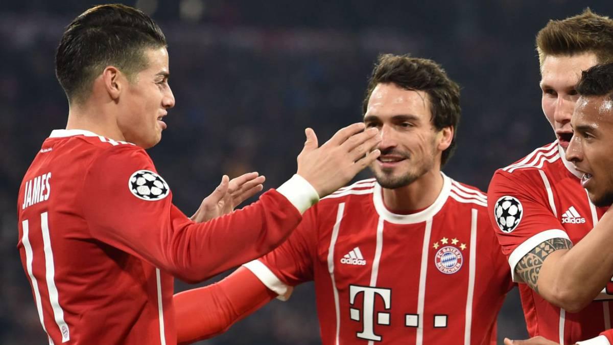 El Bayern Munich dejó prácticamente definido su pase a cuartos