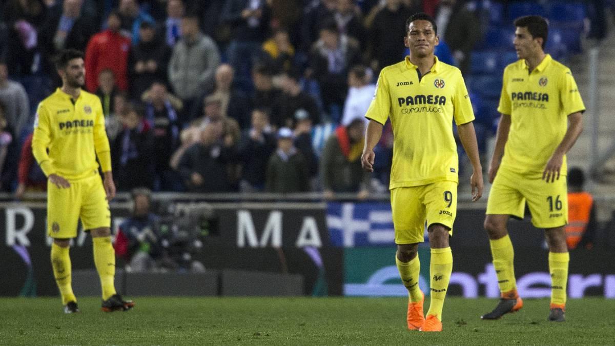 Villarreal superó al Atlético de Madrid que se aleja del Barcelona