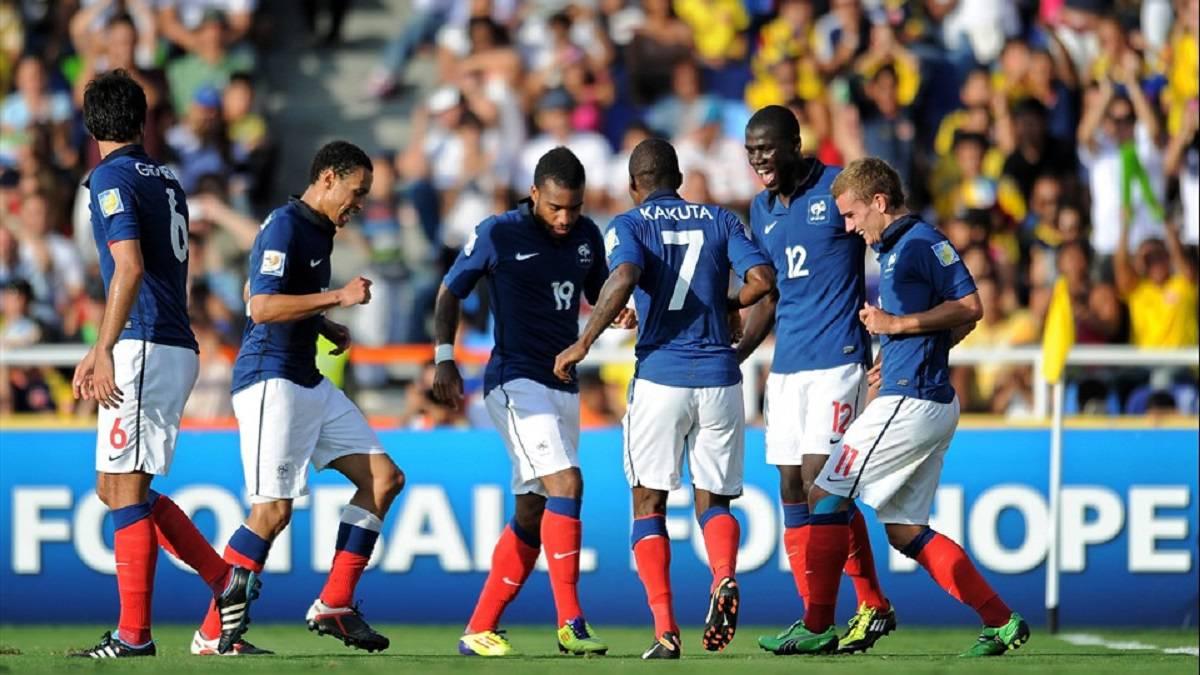 ¿Qué fue de la Francia del Sub-20 que enfrentó a Colombia  - AS Colombia 911f4847e4dcd