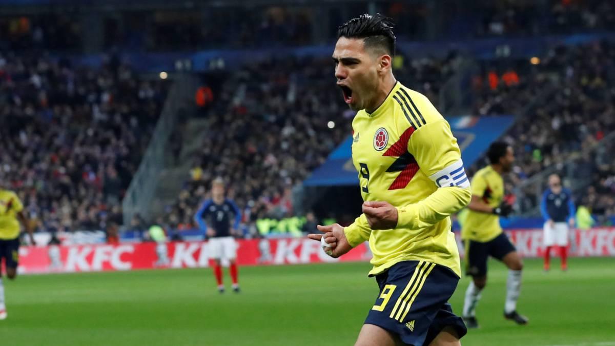 Colombia se lo dio vuelta a Francia y celebró un triunfazo