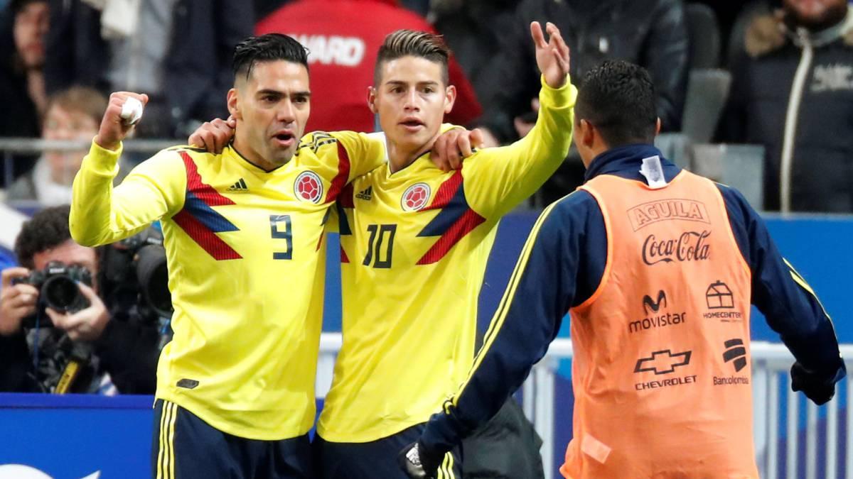 Video y resumen del partido — Colombia vs Australia