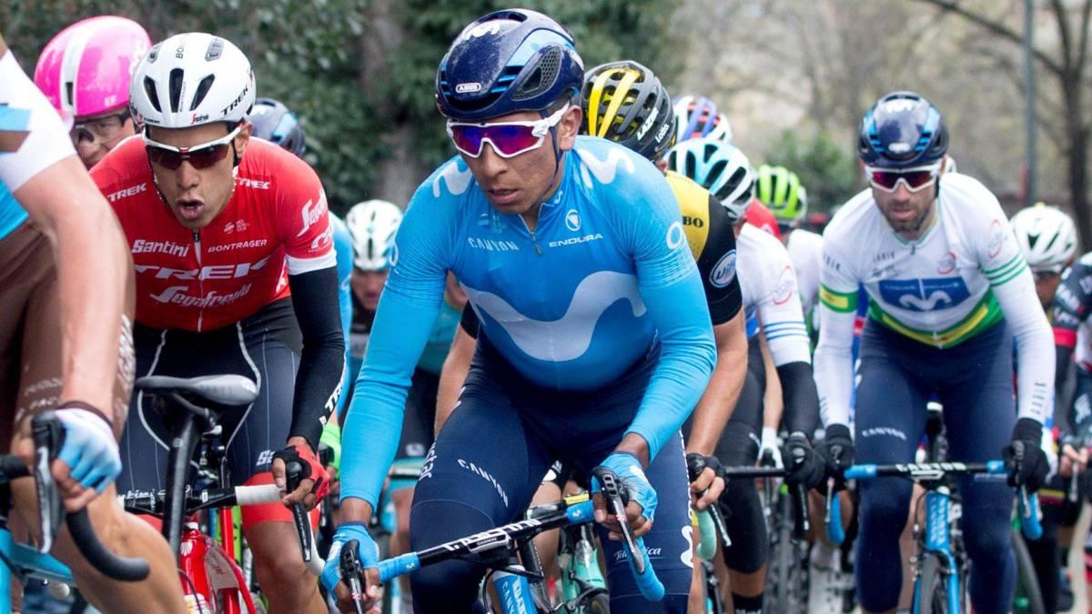 Nairo, décimo en la Vuelta al País Vasco