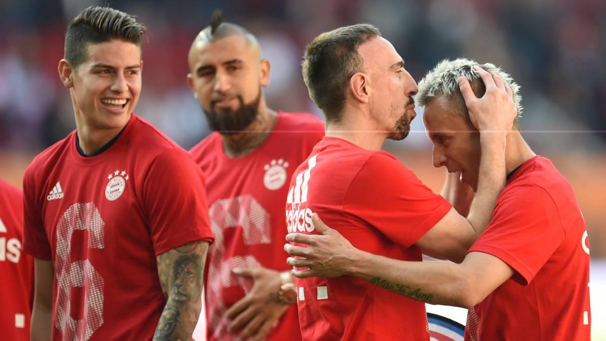 Bayern Munich sigue en modo aplanadora; golea 5-1 al 'Gladbach'