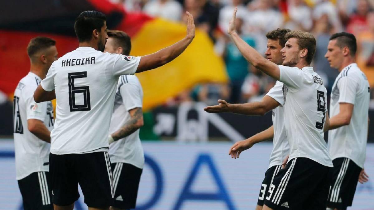 Hay que estar al nivel — México vs Alemania