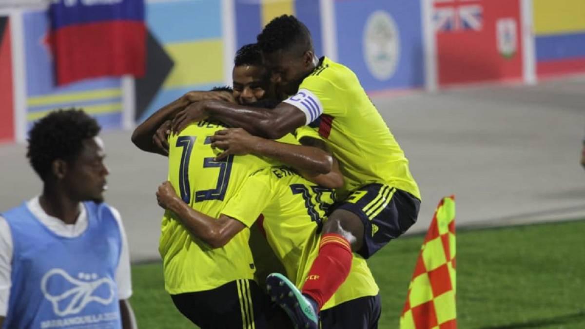 Colombia golea a Trinidad y Tobago y avanza a Semis — Juegos Centroamericanos