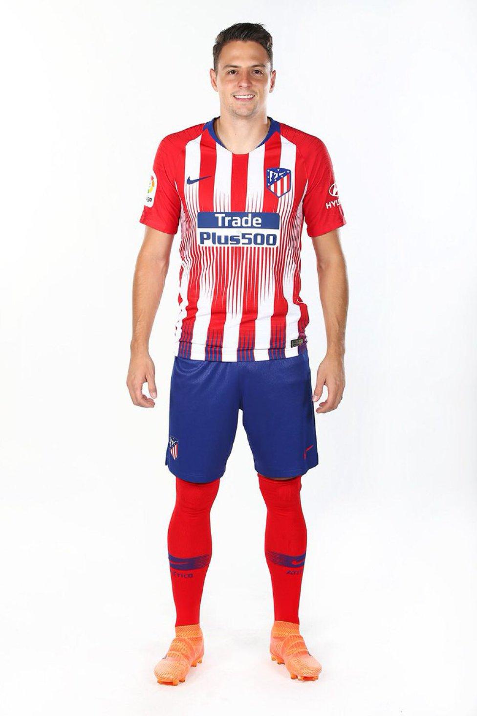 equipacion entrenamiento Atlético de Madrid deportivas