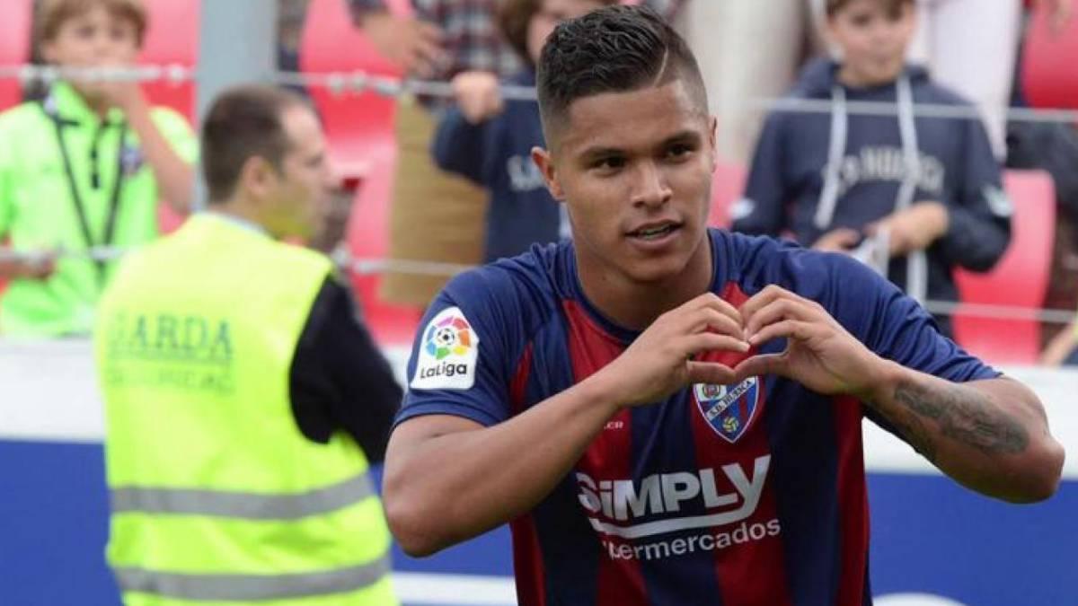 El Cucho es el colombiano más joven en jugar en el Camp Nou - AS ... 521ae9a3898