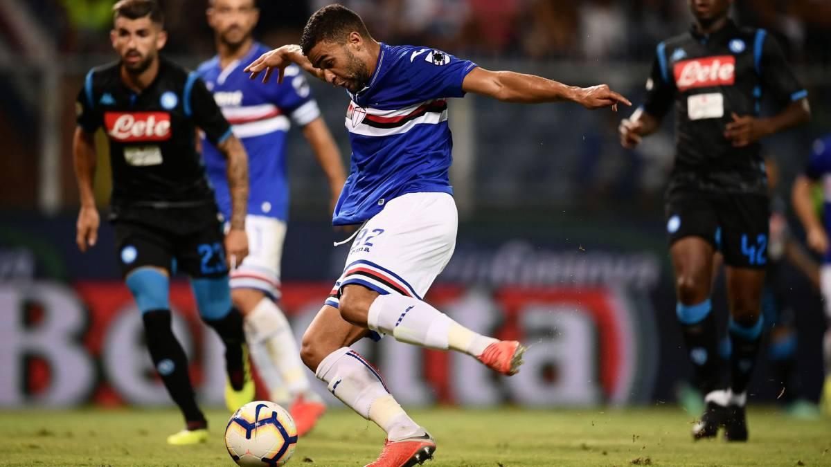 Sampdoria 3-0 Napoli  resumen af7c61f4f4065