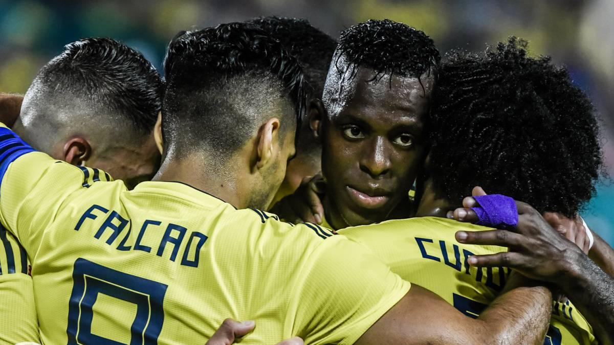 Colombia le ganó al final a Venezuela con gol de Yimmi Chará