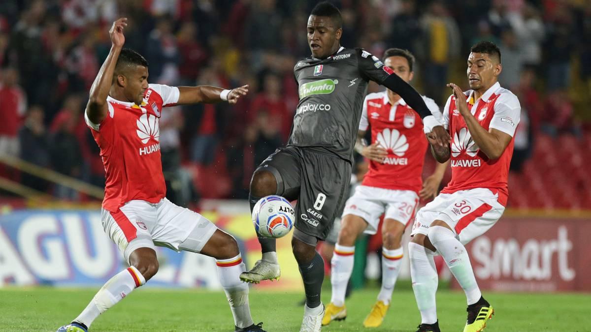 Santa Fe Once Caldas Ida Cuartos De Final Copa Aguila
