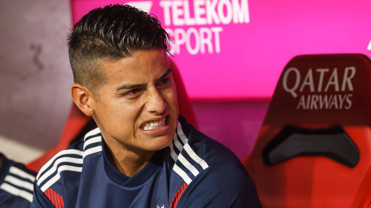Gol James hoy Bayern Múnich 3-1 Bayer Leverkusen