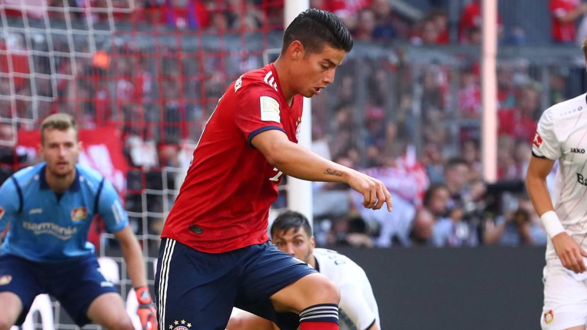 El recado de James Rodríguez a los hinchas del Benfica