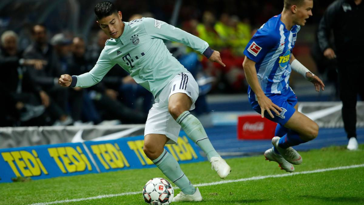 James tuvo un ataque de ira en el vestuario del Bayern — Bild