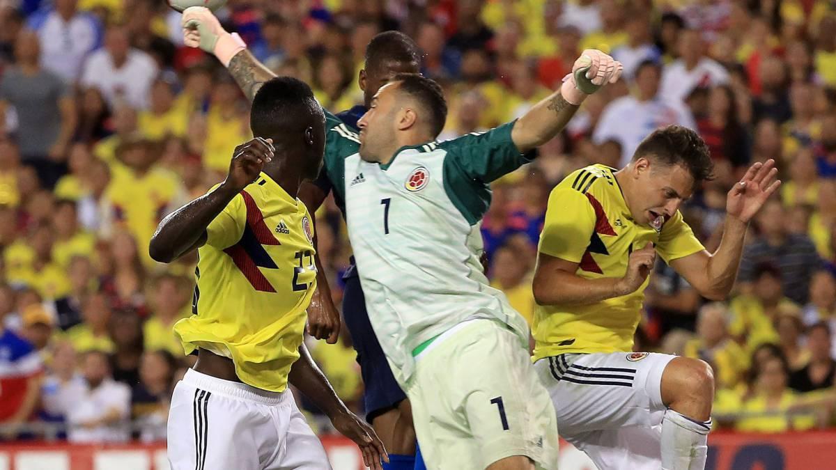 Colombia vs. Costa Rica - Reporte del Partido - 16 octubre, 2018