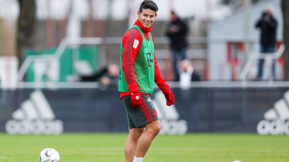 Bayern Munich pierde a James Rodríguez