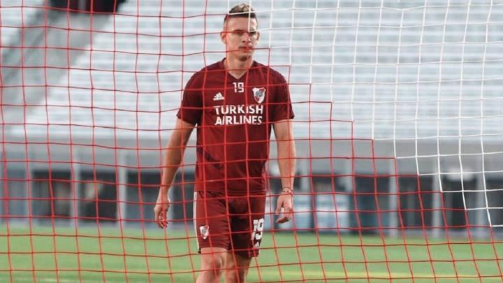 Francescoli, molesto con el Atlético por Rafael Santos Borré