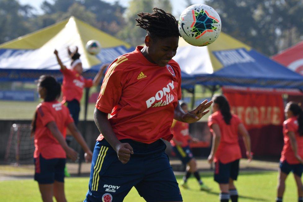 Tercer día entranmiento de la Selección Colombia femenina
