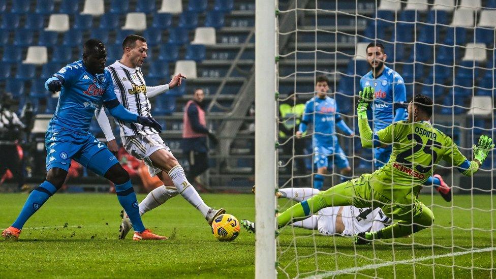 Juventus vs Napoli en la Supercopa de Italia