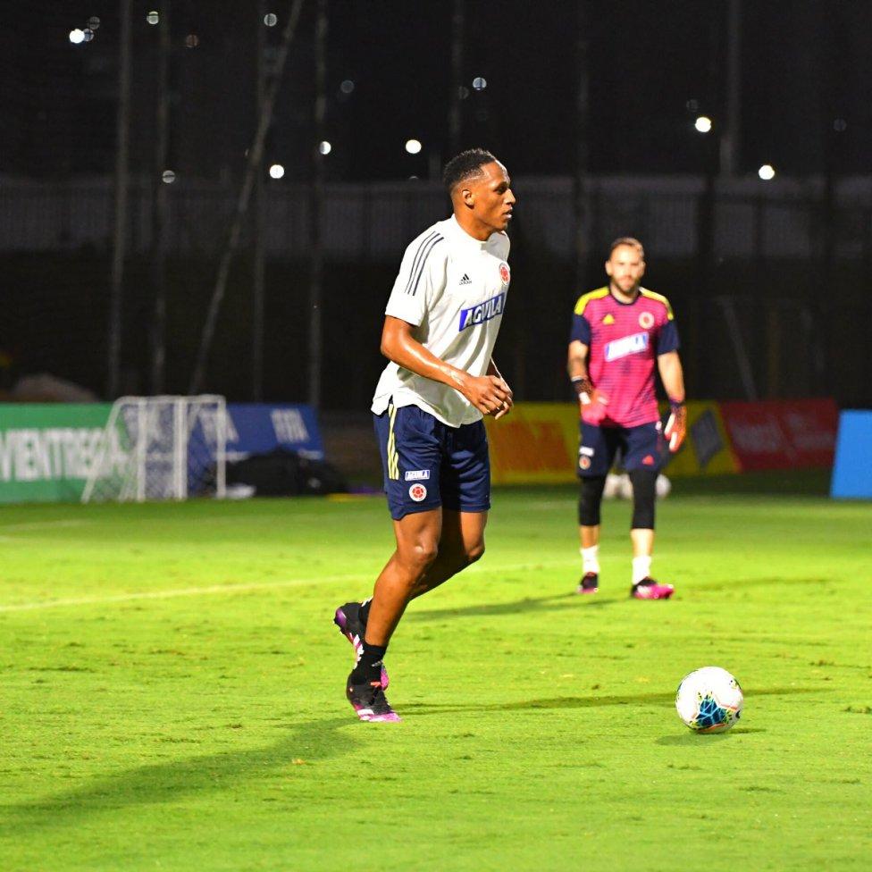 La Selección Colombia entrena en Barranquilla