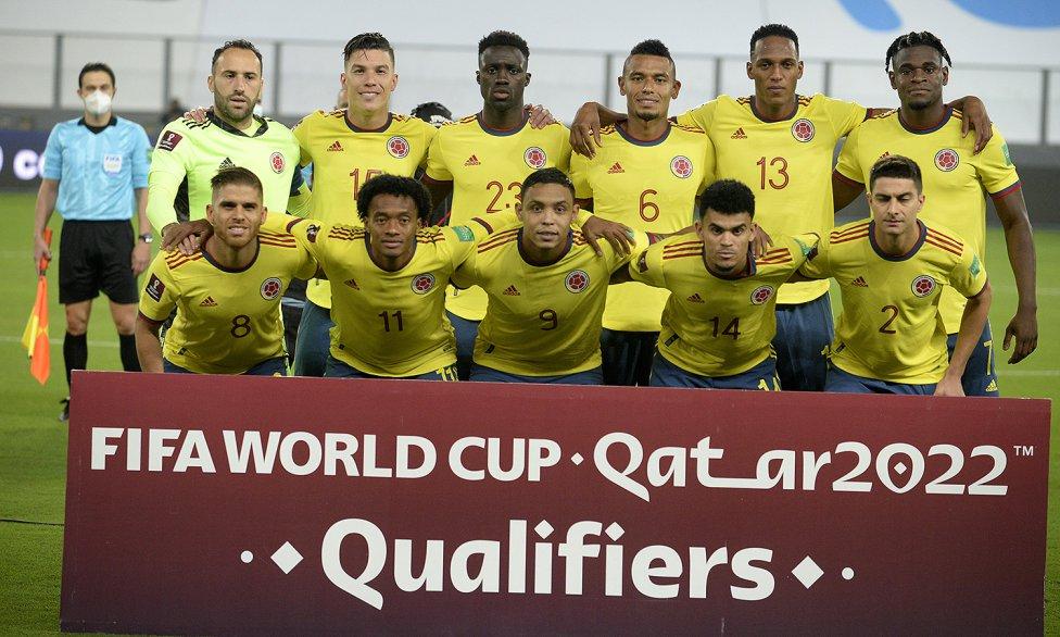La Selección Colombia enfrenta a Perú en el estadio Nacional de Lima, por la séptima jornada de las Clasificatorias Sudamericanas rumbo a Qatar 2022.