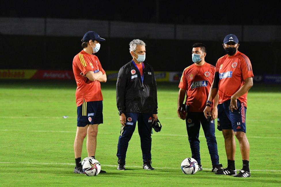 Reinaldo Rueda prepara el duelo ante Argentina. La idea es seguir recuperando el estilo de juego