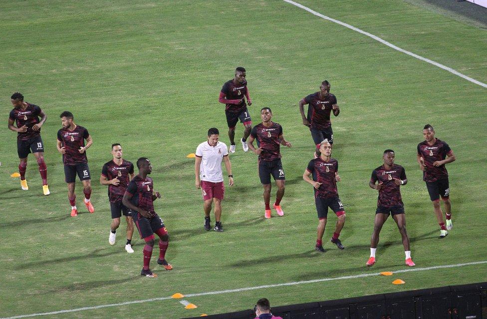 Deportes Tolima y Millonarios empataron en la primera final de la Liga BetPlay. Juan Fernando Caicedo marcó el primer tanto, Juan Carlos Pereira empató