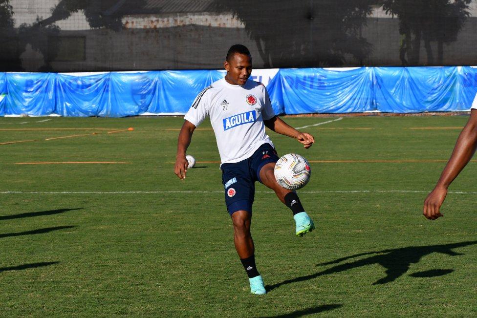 La Selección Colombia se entrena en Brasilia. El equipo de Reinaldo Rueda prepara los detalles para enfrentar a Uruguay en los cuartos de final de la Copa
