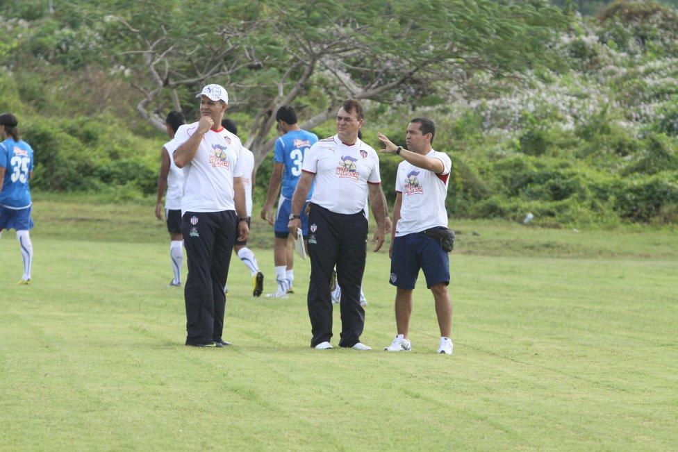 Entrenadores de Junior en la última década.