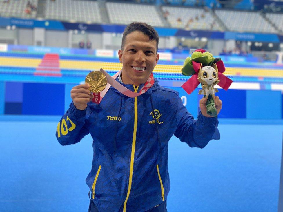 Nelson Crispín, medalla de oro