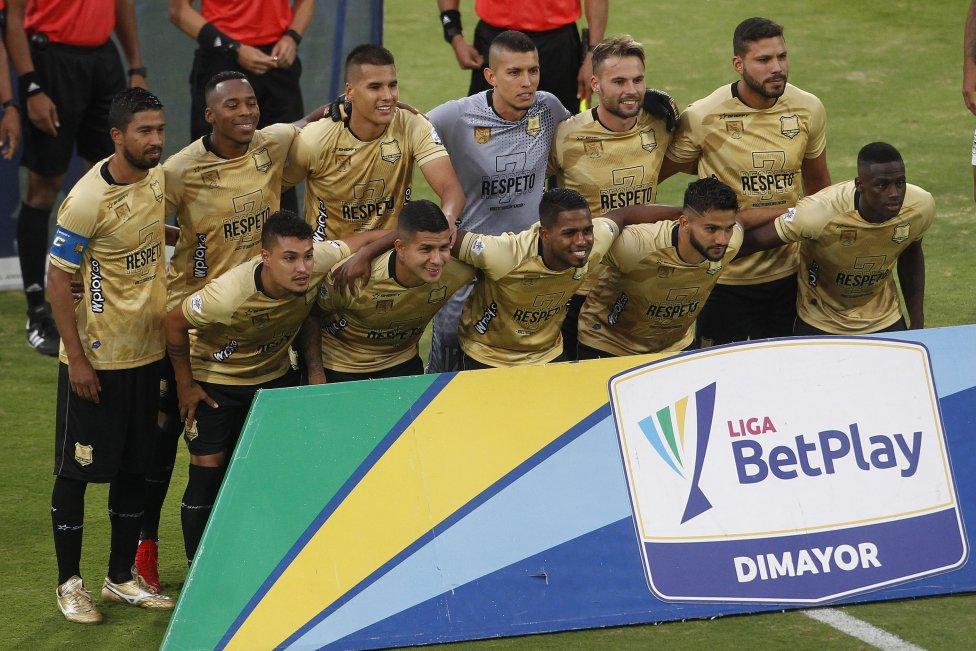 Atlético Nacional y Águilas Doradas se enfrentaron por la séptima fecha de la Liga BetPlay 2021-II en el estadio Atanasio Girardot.