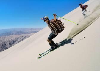Esquí en las dunas de Perú