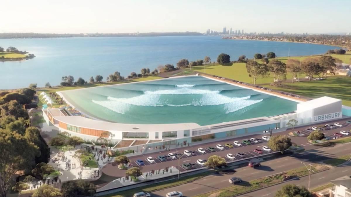 Wavegarden bcn montgat barcelona tendr una ola artificial for Lagunas artificiales construccion