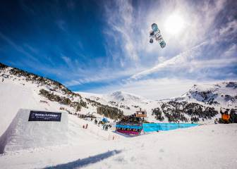 Slopestyle de altos vuelos en el Total Fight