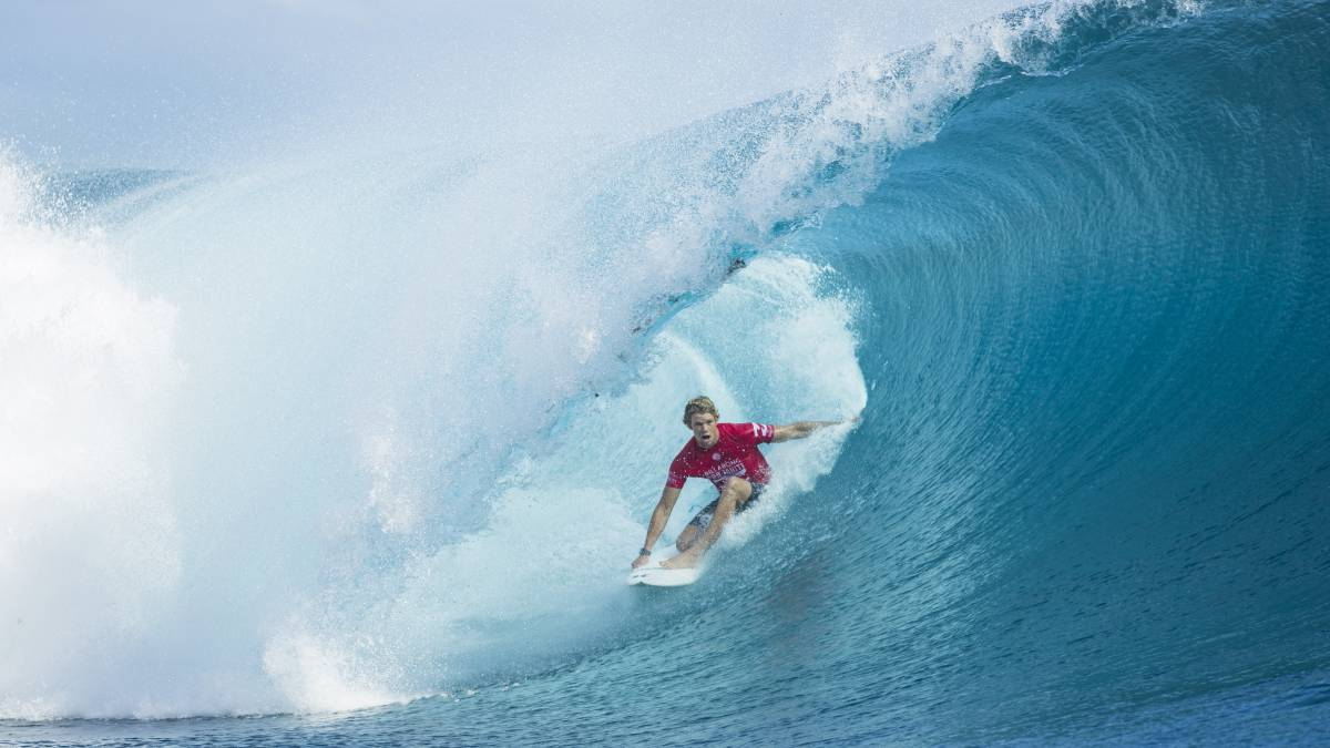 Circuito Mundial De Surf : Wsl este joven surfista logra una marca histórica en el circuito