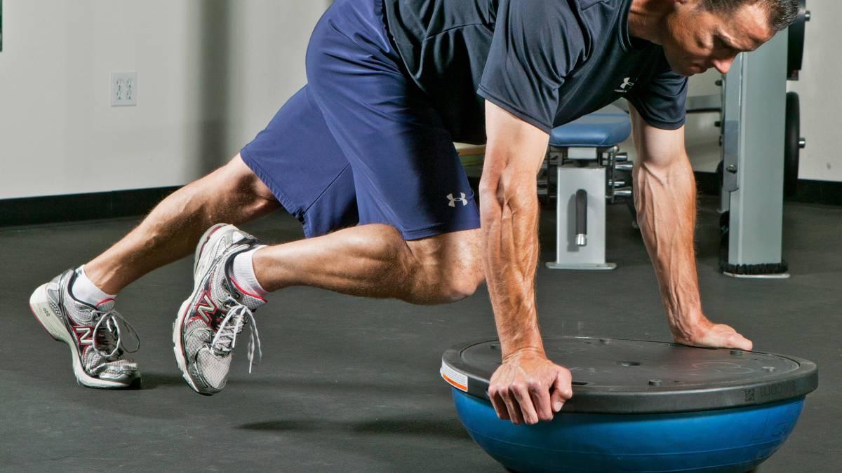 Los beneficios de entrenar con BOSU  donde quieras y como quieras ... df9138bcad11