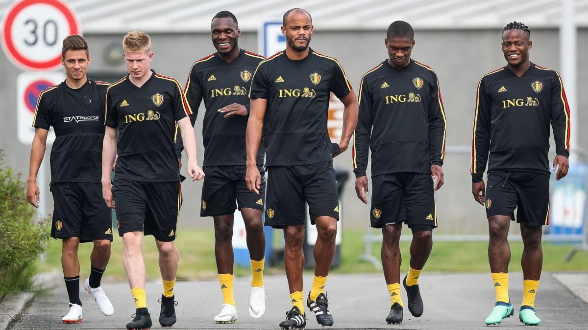 Bélgica evitó el problema de Marcelo y se llevó sus colchones