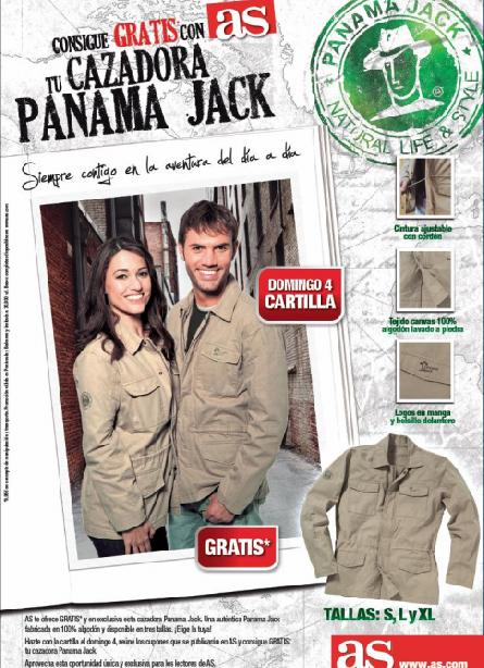 Consigue con AS UNA CAZADORA PANAMA JACK