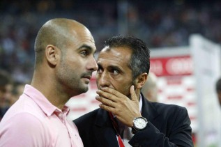 Pep's brother and Estiarte meet with Galliani in Milan