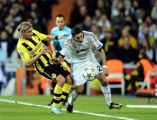 Özil strikes late on to save Madrid's blushes