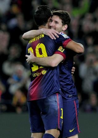 Barcelona once again fall back on magical Leo Messi