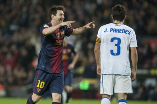 Leo Messi, just seven goals away from Müller's record