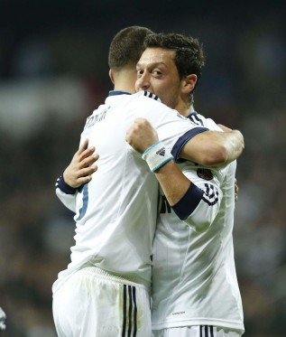 King Assist: Benzema has set up eight goals this season