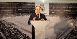 "Florentino Pérez. ""There is no ultimatum about Mourinho"""