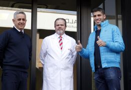 "Insúa passes Atlético medical: ""This is every footballer's dream"""