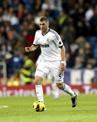 Karim Benzema absent from training with Real Madrid