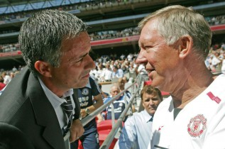 Mourinho was Ferguson's first choice for United